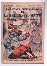 La Merveilleuse Histoire de la Belle et la Bête. Par NIEZAB. Récit complet 1935