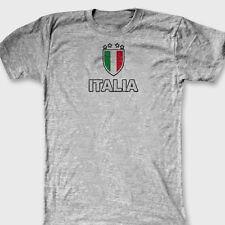 ITALIA Futbol FIFA 2014 World Cup T-shirt Italy Brazil Soccer Tee Shirt