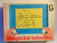 TABLEAU MAGIQUE MAGICKA' TABULKA- MAGISCHE TAFEL - TAVOLA MAGICA - GIOCO VINTAGE
