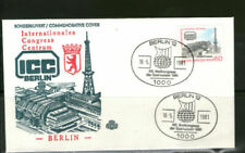 Briefmarken aus Berlin (1980-1990) mit Bedarfsbrief aus Berlin