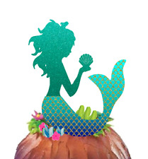 Glitter Mermaid Cake Decoration Cake Topper New