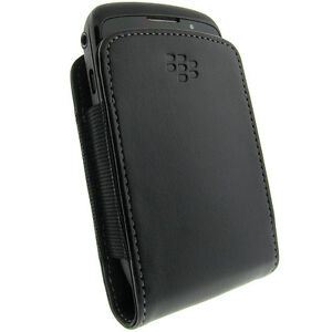BRAND NEW SEALED GENUINE BLACKBERRY HDW-24206-001 LEATHER CASE POUCH 9700 9780