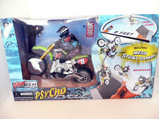 Radio Control Motorcycle- Max Tech-Psycho Cycle-1:6 scale-with 9.6V charger- NIB