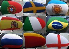 World Cup 2018 Car side Mirror Flag - Mirror sox - Mirror Cover