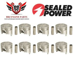 Chevy Chevrolet 402 Bbc Big Block Chevy Sealed Power Pistons (8) 1970 - 1972