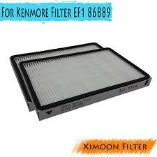 2X HEPA Vacuum Filter for Kenmore EF-1 HEPA Filter EF1 86889 MC-V194H 80007
