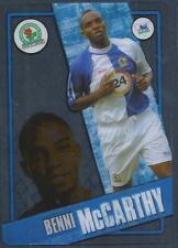 TOPPS I-CARD SERIES 2006-07 #014-BLACKBURN ROVERS & SOUTH AFRICA-BENNI McCARTHY