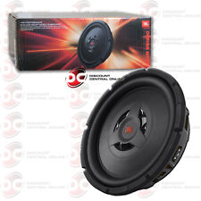 """JBL WS1200 12"""" DUAL CAR SHALLOW MOUNT SUB WOOFER WITH SELECTABLE 2 OR 4-OHM IMP"""
