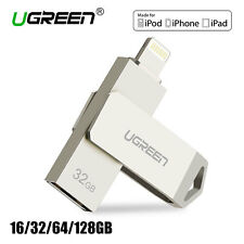 Ugreen 32GB USB i-Flash Drive Memory Stick Storage For iPhone 7 7Plus 6 iPod IOS