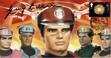 More details for captain scarlet - spectrum - signed/autographed stamp cover  by gerry anderson