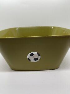 Food-Grade Candy Color Plastic Bowl Square Salad Bowl Fruit Plate Large