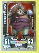 Force Attax Star Wars Serie 3 (2012, rot), Gamorreaner-Wache (219), Star-Karten
