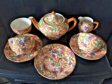 Antique Barker Brothers Fantasy Hand Painted Very Collectable Rare Tea Set