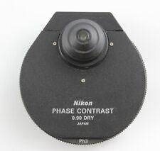 Nikon Eclipse E Amp I Series Phase Contrast Condenser 090 Dry Microscope E400