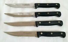 JA Henckels EverSharp Pro Steak Knives Set of 4 Serrated Edge Stainless Steel