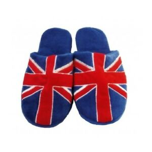 Union Jack Kids Slippers - Childs Slippers England