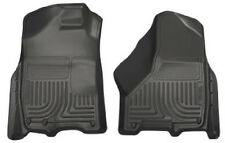 HUSKY WeatherBeater Front Floor Mats for Dodge Ram 1500 2500 3500 Black 18031