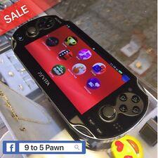 Sony PS Vita Handheld Gaming System PCH-1001 Black 4GB * FREE FAST SHIPPING *