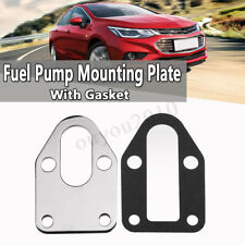 Fuel Pump Mounting Plate + Gasket For SB SBC Chevy 283 305 327 350 383
