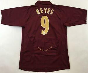 Arsenal London 2005 2006 #9 Reyes Highbury shirt jersey Nike maillot camiseta L