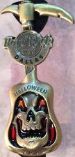 Hard Rock Cafe DALLAS 2013 HALLOWEEN PIN Grim Reaper Sickle GUITAR New w/HRC Bag
