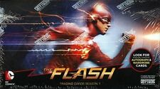 THE FLASH SEASON 1 TRADING CARDS HOBBY FACTORY SEALED BOX CRYPTOZOIC