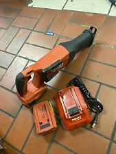 Hilti Sr 6 A22 Reciprocating Saw With 2 Batteries And Charger