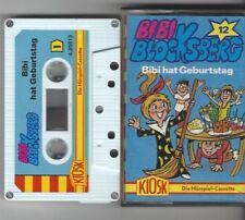 BIBI BLOCKSBERG MC FOLGE 12 BIBI HAT GEBURTSTAG - weiss-blaue Auflage RARITÄT