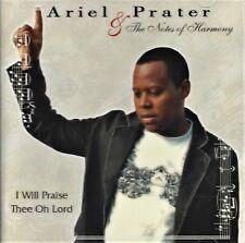 RARE Ariel PRATER & le note di armonia _ farò elogi Thee Oh Signore 2009 CD