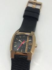Diesel Men's Watch Leather Band No Movement Doesn't Work Parts DZ5441 Z169