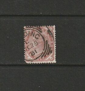 Great Britain 1880 Three Halpence Venetian Red Used