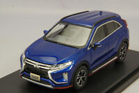 1/43 Hi-Story MITSUBISHI ECLIPSE CROSS G Plus Package 2018 Blue HS222BL