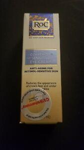 RoC Retinol Correxion Anti Aging Eye Cream Sensitive Skin 0.5 Fl Oz