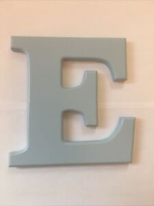 Personalised Decorative Wooden Initial 'E' - unbranded - Excellent Used