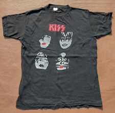 More details for kiss tee shirt dynasty faces size m .... vintage ?