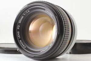 RARE! `O`LENS [Near MINT] Canon FD 50mm f/1.4 MF Standard Prime Lens From JAPAN