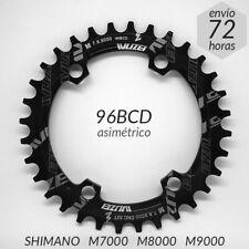 Plato BCD 96 Shimano M7000 M8000 M9000 M6000-2 Redondo 32 34 36 Dientes