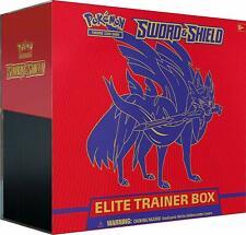 Pokemon Tcg Sword And Shield Elite Trainer Box Zacian
