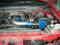 BCP RED 01-04 Corvette C5 5.7 V8 Dual Twin Ram Air Intake System Air Filter