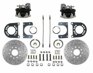 1957-77 Ford/Merc Full Size Leed Brakes Rear Disc Brake Kit (D&S rotors)