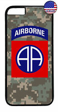 US Airborne 82nd Camo Military Forces Case Cover iPhone Xs Max XR X 8 7 6 Plus 5