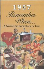 61st Birthday Remember When Book 1957