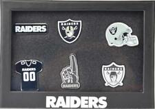 Forever Collectibles Las Vegas Raiders 6 Piece Pin badge set le PINS NFL NEW