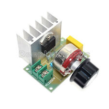 4000W AC 220V SCR Voltage Regulator Speed Controller Dimmer Thermostat Module