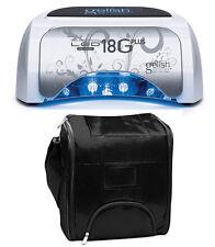 Gelish Harmony 18G Plus 36-Watt LED Gel Light + Shoulder Strap Travel Bag
