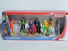 SCHLEICH 22528 - 7 Figuren SET Superman, Batman, Flash Comic Justice League NEU