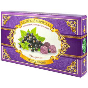 Marmalade Candy Black Currant, Мармелад, Белевский, 0.57 lb/ 260 g