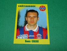 N°87 DAMIR CAKAR LB CHÂTEAUROUX LBC PANINI FOOT 98 FOOTBALL 1997-1998