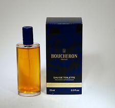 BOUCHERON OLD FORMULA EAU DE TOILETTE 75 ML SPRAY REFILL