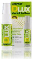 4 x Better You DLux 3000 Daily Vitamin D Oral Spray 15ml